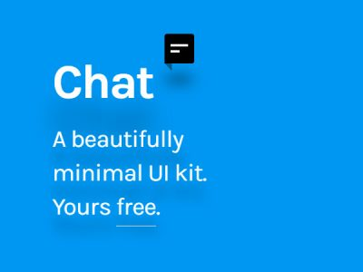 Free UI Kit - Chat UI Kit