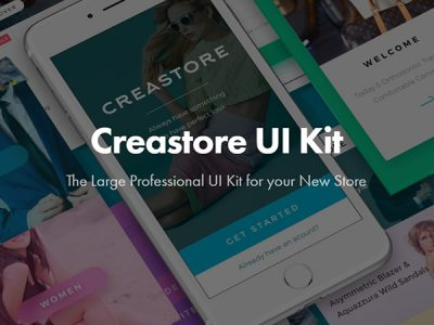Createstore UI Kit - Free Sample