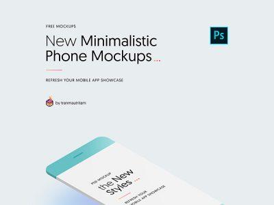 New Minimalistic Phone Mockups