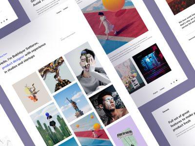 Genesis - Free Portfolio Template
