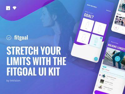 Fitgoal Free UI Kit