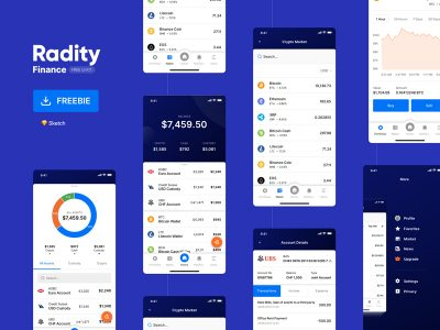 Radity Finance Free UI Kit