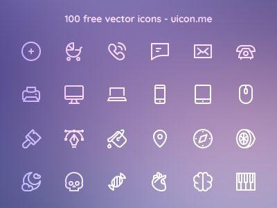 Line Hero Essentials Free Icons