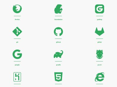 Devicon — Programming Languages & Development Tools Related Icons