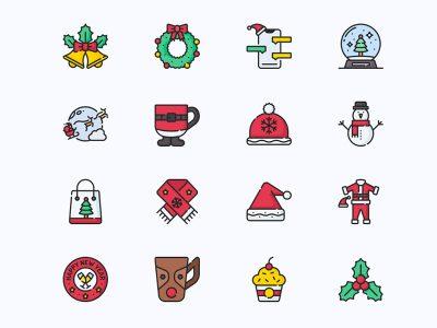 Free Christmas Icons Set