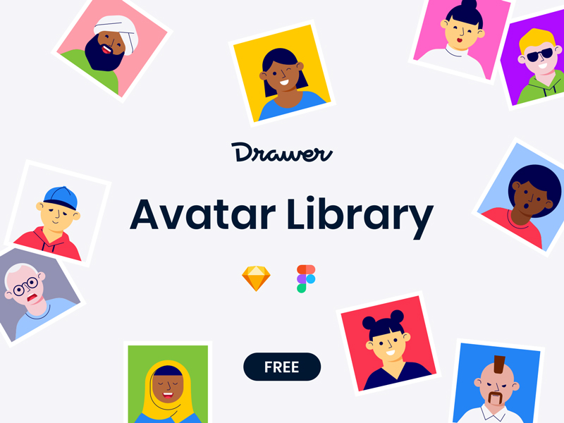 Avatar Library - Free Avatar Illustrations Library