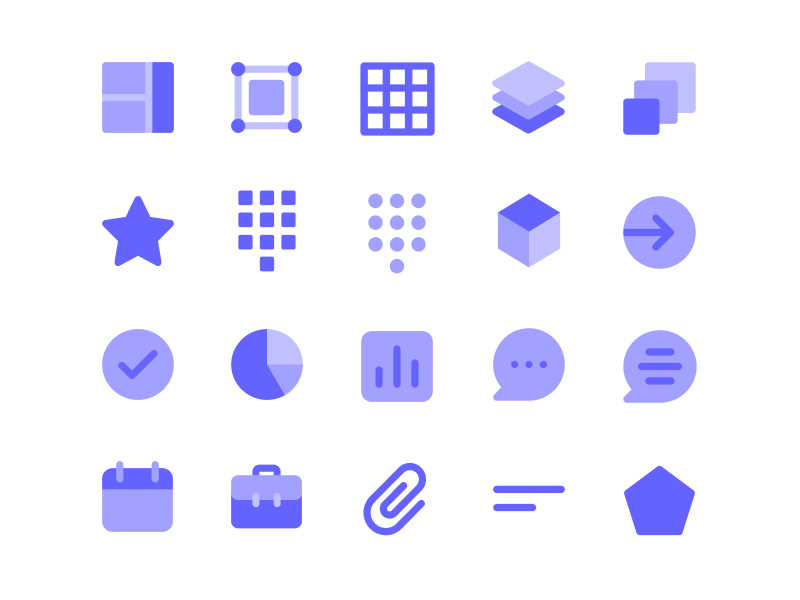 Unicons Monochrome - 200+ Free Vector Icons in Monochrome Style