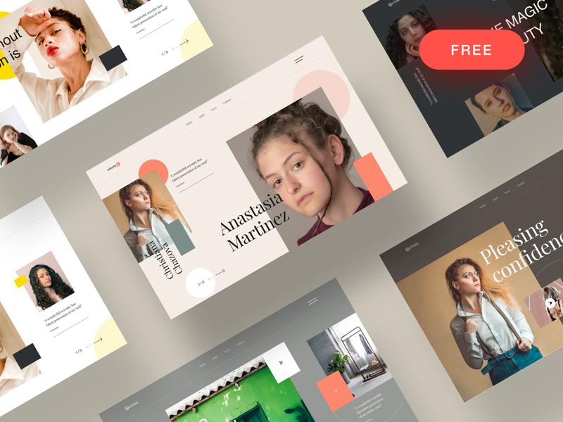 Free Website Header Designs for Sketch