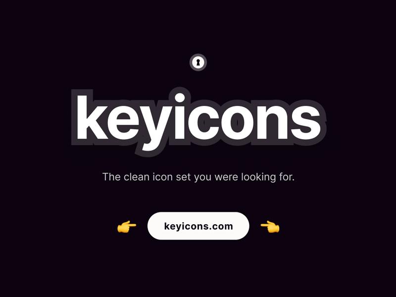 Keyicons - Free Icon Set