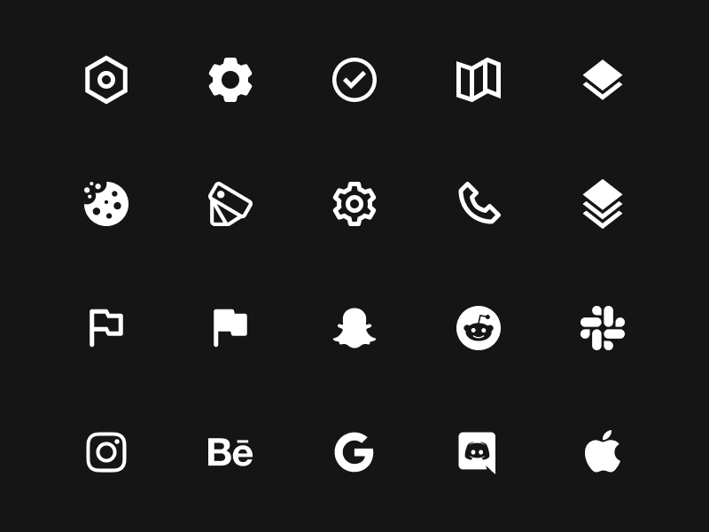 Coolicons — Free Icons for Your Next Project