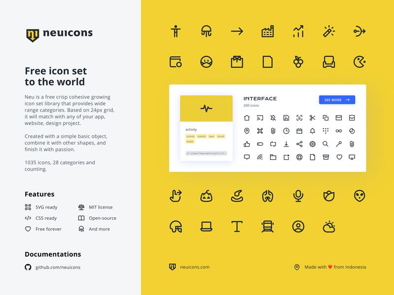 Neu Icons — Free Icon Library