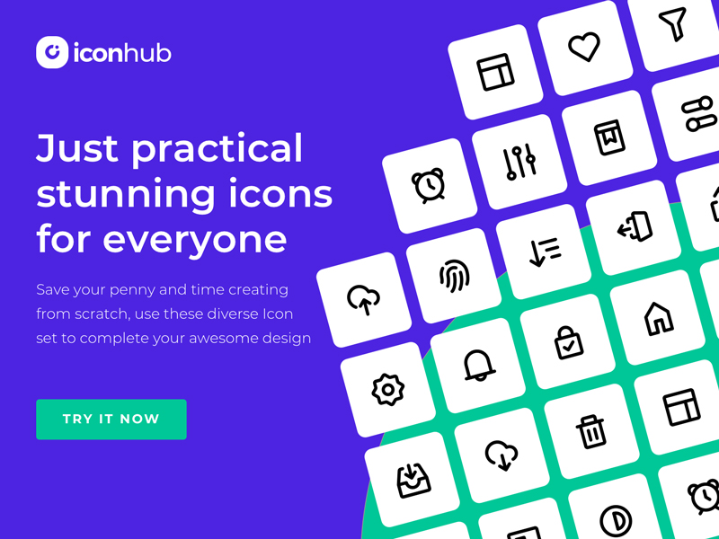 Iconhub - Free Icons for Everyone