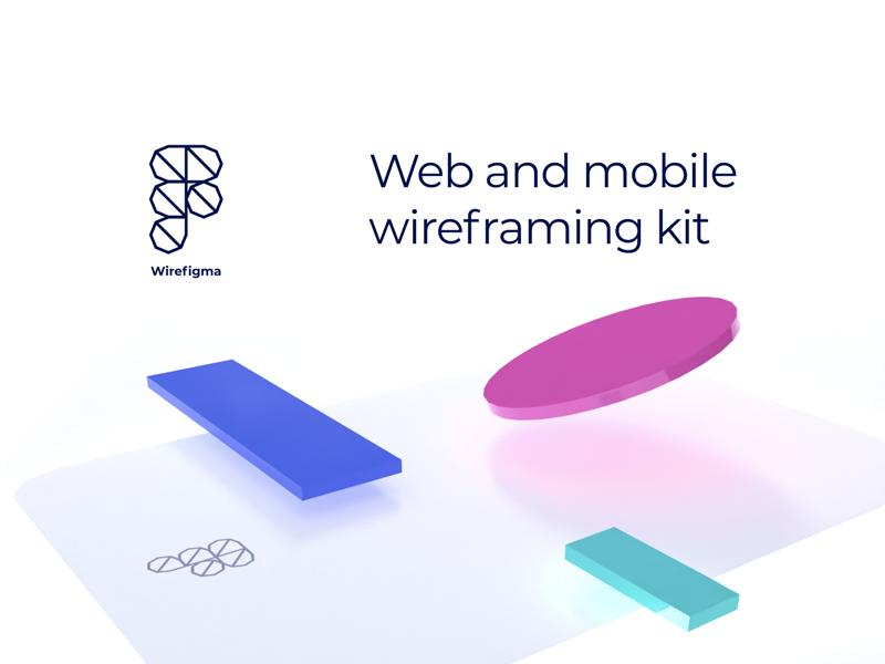 WireFigma - Free Wireframe Kit