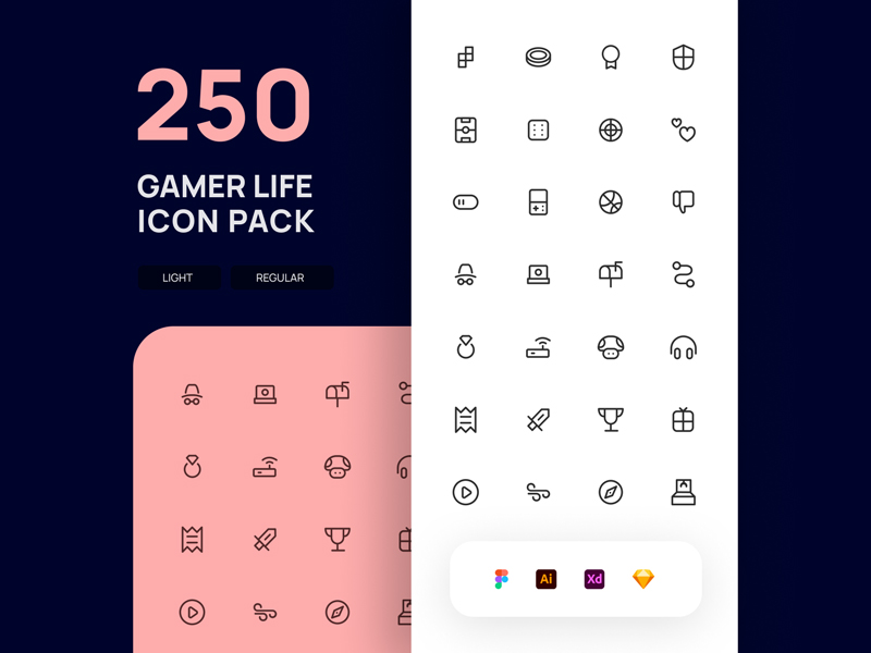 Gamer Life Free Icon Pack